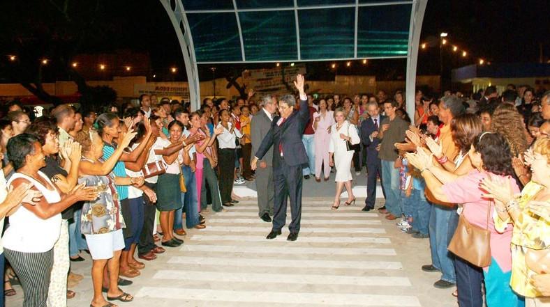 Autoridades marcam presença na inauguração do novo centro administrativo da Prefeitura de Aracaju
