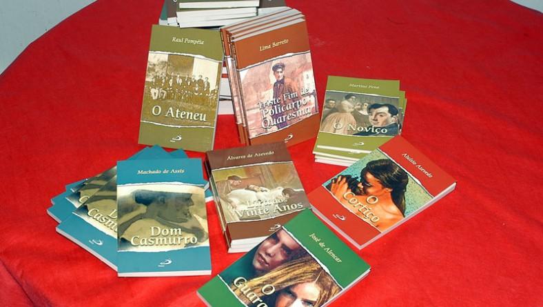 Obras consagradas da literatura brasileira são doadas às bibliotecas municipais