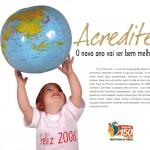 Feliz 2006! - Arte: Pedro Wilson/Secom