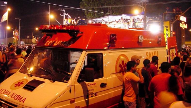 Samu Municipal será responsável pelo atendimento médico no Carnaju