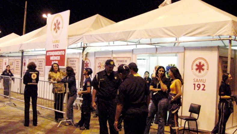 Saúde Municipal contribuiu para o sucesso do Forró Caju 2006