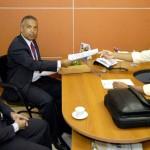 Chefe de gabinete do prefeito abre as portas da prefeitura para auditoria da CGU - Fotos: Lúcio Telles