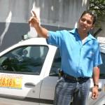 Táxis da capital circulam com bandeira dois durante o mês de dezembro - Foto: Márcio Garcez