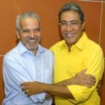 Prefeito Edvaldo Nogueira participa da posse do governador eleito Marcelo Déda - Foto: Lúcio Telles