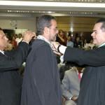 Prefeito participa da posse do novo conselheiro do TCE - Fotos: Wellington Barreto