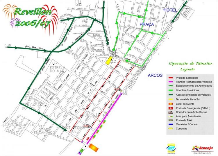 Prefeitura de Aracaju prepara esquema especial para transporte e trânsito no Reveillon