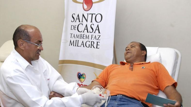 Hemolacen coleta sangue entre funcionários do Governo na Pronese