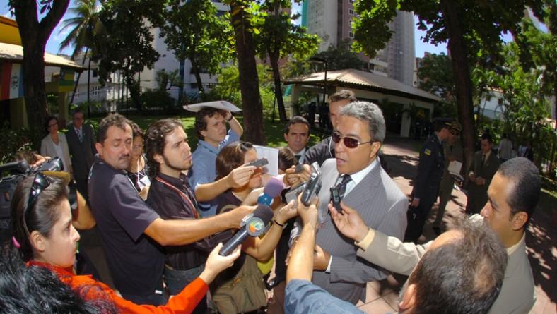 Déda participa de Reunião de Governadores em Salvador