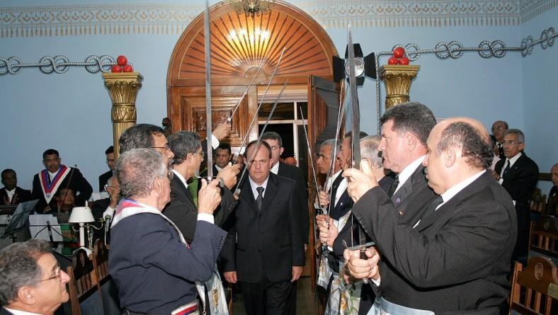 Vice-governador prestigia jubileu de ouro da Loja Maçônica Clodomir Silva
