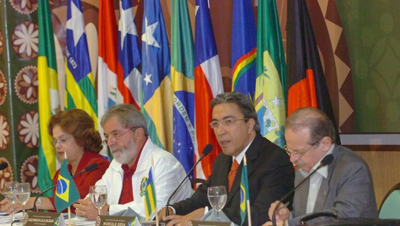 Presidente Lula e governador Marcelo Déda fazem abertura do VI Fórum de Governadores