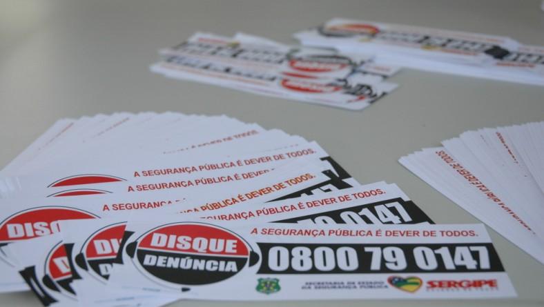 'Sergipe de Todos': Disque-Denúncia recebe informações após divulgação de número