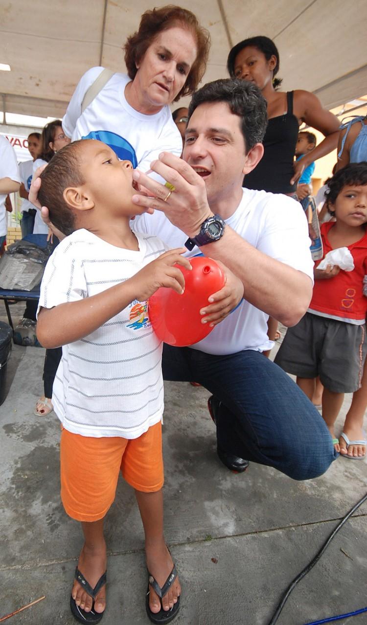 SE é o 2º estado do NE em cobertura vacinal contra rubéola e poliomielite