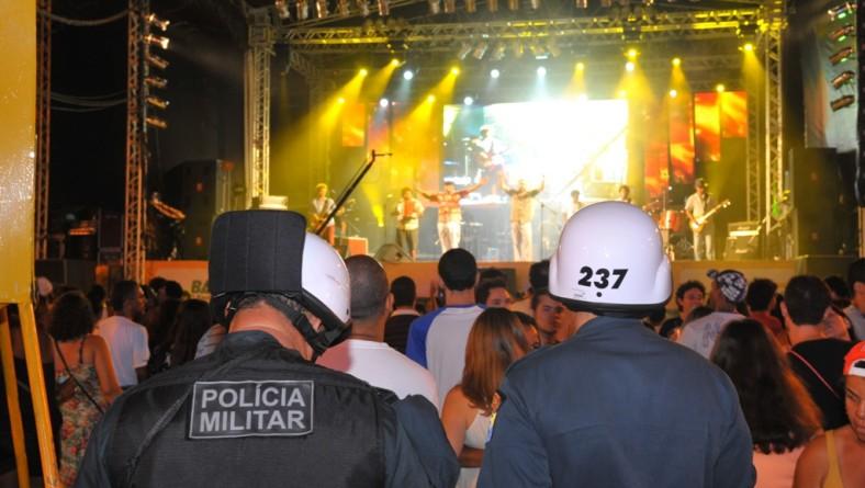 PM emprega mais de 100 homens na 1ª. noite de Verão SE na Caueira