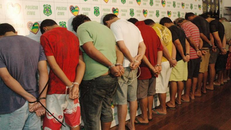 SSP apresenta quadrilha acusada de roubar cargas e veículos em Sergipe