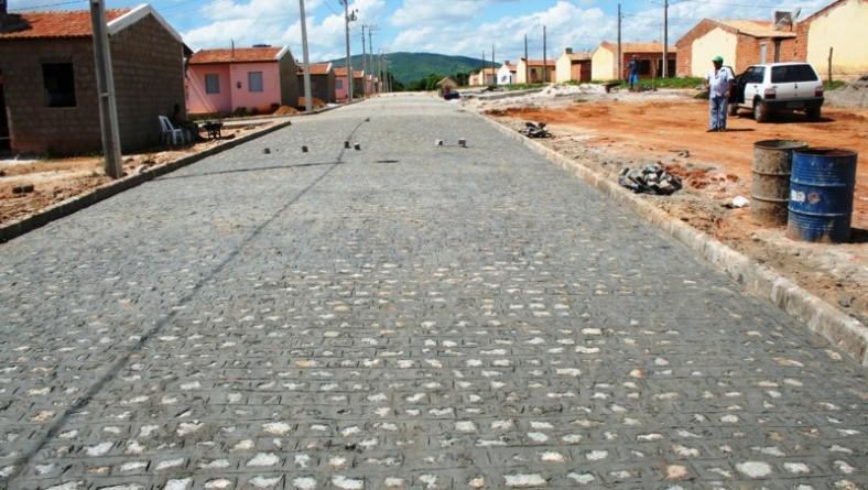 Obras do programa 'Casa Nova Vida Nova' em Frei Paulo seguem em ritmo acelerado