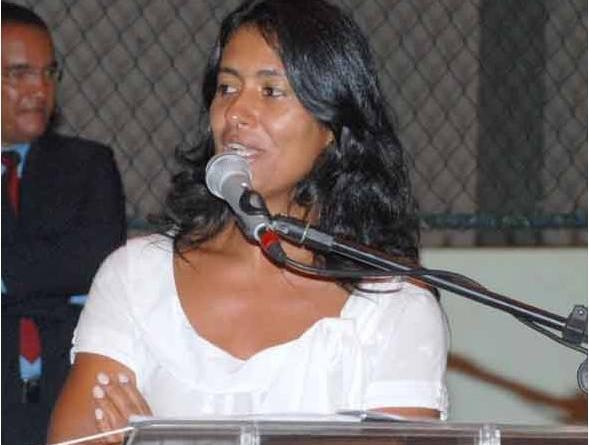 Primeira-dama e secretário participam de formatura dos alunos do Vitória de Santa Maria