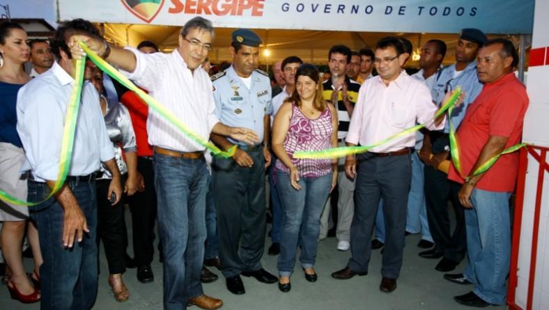Governador inaugura Centro Integrado de Segurança Pública em Salgado