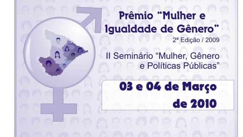 Estado divulga vencedores do Prêmio 'Mulher e Igualdade de Gênero'