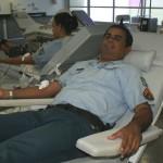 Policiais militares doam sangue para reforçar estoque do Hemose - Fotos: Marcio Garcez/Saúde