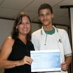 Mais de 550 estudantes da rede estadual receberam certificados da Microsoft - Fotos: Juarez Silveira/Educação