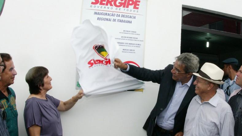 Governador Marcelo Déda inaugura Delegacia Regional de Itabaiana