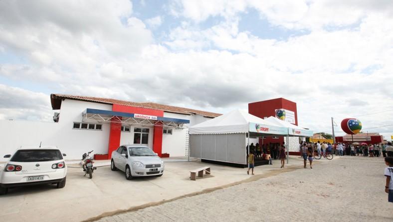 Déda entrega instalações de saúde modificando panorama de Monte Alegre