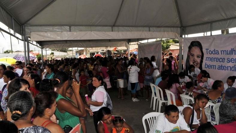 Moradoras do Santa Maria atendidas pelo Bem Mulher superam expectativas
