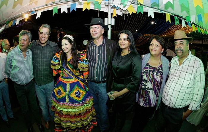 Governador prestigia último dia dos festejos juninos em Estância