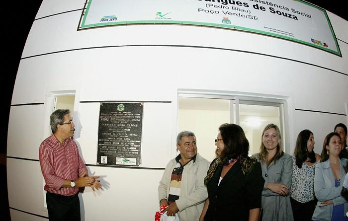 Governador inaugura novo Cras em Poço Verde