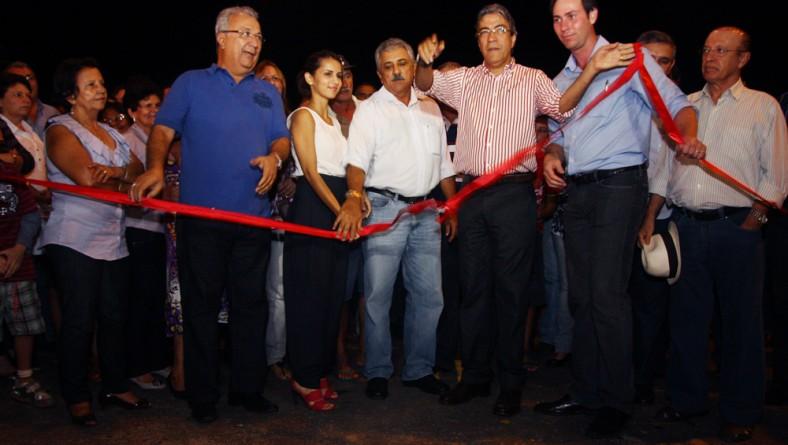 Déda inaugura rodovia que liga Santa Rosa de Lima a Moita Bonita