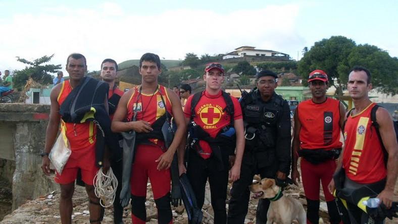 Bombeiros de Sergipe retornam depois de missão cumprida em Alagoas