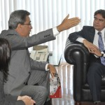 Déda pede a Temporão aumento dos repasses para a saúde em Sergipe - Fotos: José Varella