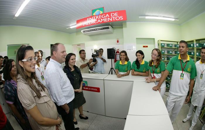 Vice-governador inaugura obras em Glória e Poço Redondo