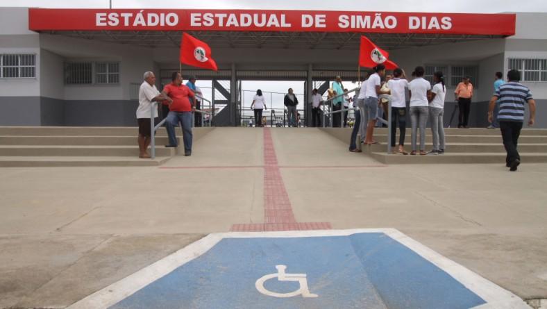 Governo investe mais de R$ 10 milhões em estádios e ginásios esportivos