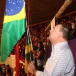 Vicegovernador e primeiradama prestigiam abertura oficial dos Jogos da Primavera - Fotos: Marco Vieira