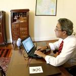 CONVITE À IMPRENSA  Déda anuncia o novo secretariado - Governador utilizou seu twitter para antecipar dois dos nomes já definidos / Foto: Marcos Rodrigues/ASN