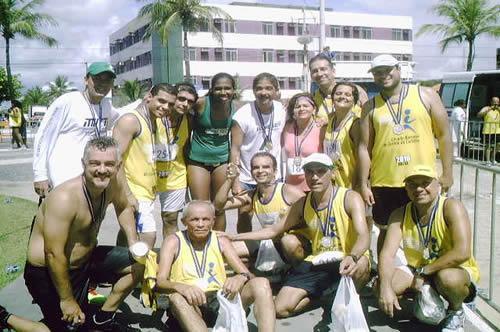 Atletas do Banese marcam presença na Corrida dos Carteiros