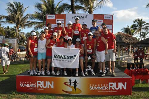 Corrida apoiada pelo Banese reúne mais de 500 participantes