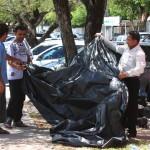 Manifestantes desfazem acampamento após entendimento com o Governo - Foto: Marco Vieira/ASN