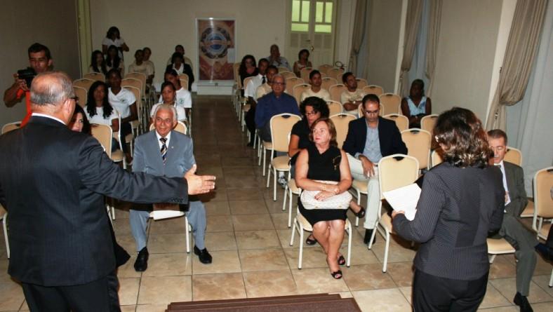 """Seminário """"Aracaju para o século XXI"""" é lançado no Palácio-Museu Olímpio Campos"""