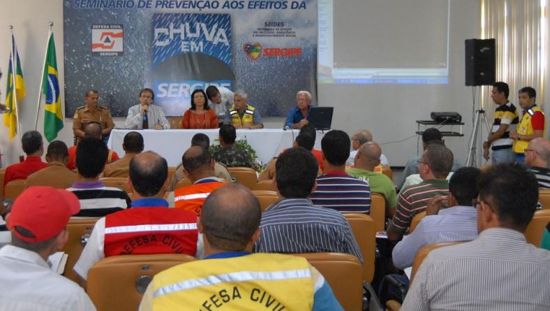 Governo vai trabalhar para prevenir danos causados pelas chuvas em SE