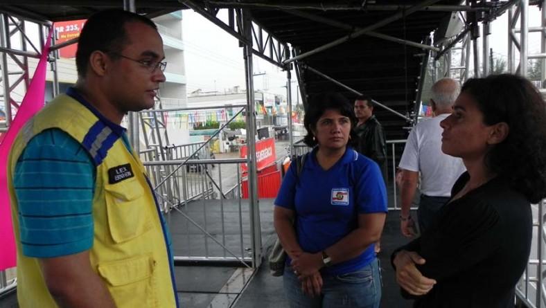 Defesa Civil inspeciona camarotes da Micarana e Socorro Folia