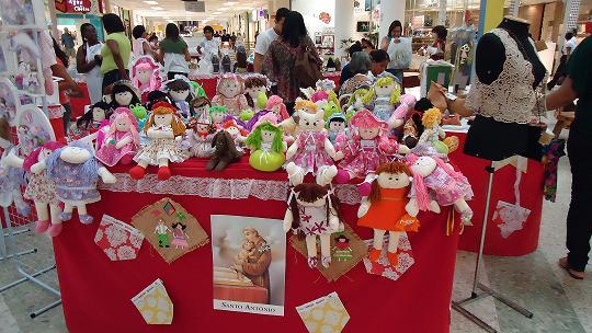 Adesivos De Natal Unhas ~ Setrab realiza u2018Exposiç u00e3o de Artesanato Sergipano u2019 no Shopping Riomar IMD Instituto Marcelo Déda