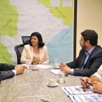 Governadora em exercício reúnese com secretários de Estado - Fotos: Marcelle Cristinne/ASN