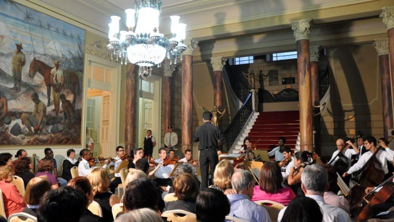 Orsse leva música clássica ao Palácio-Museu Olímpio Campos