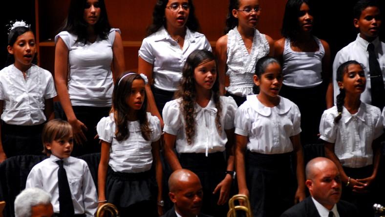 Sete crianças são aprovadas para coro infantil da Orsse