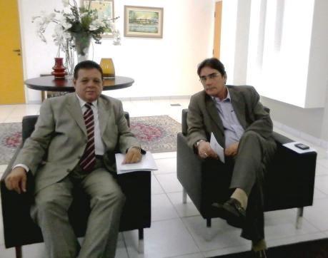 Secretário de Estado do Trabalho recebe presidente do TRT/SE