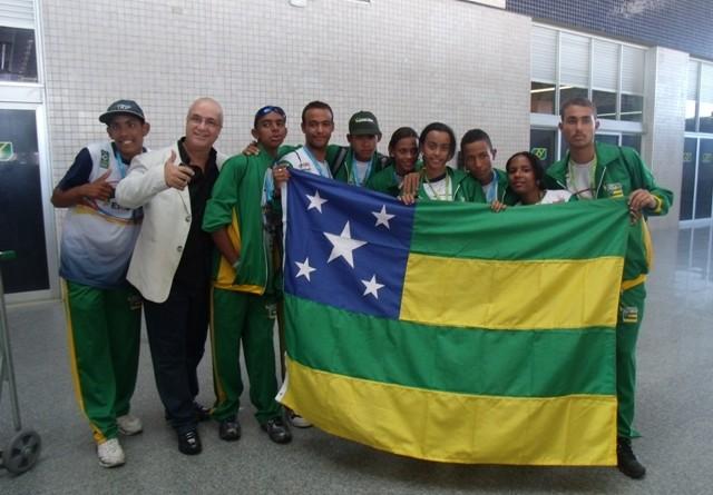 Festa para os sergipanos medalhistas paraolímpicos
