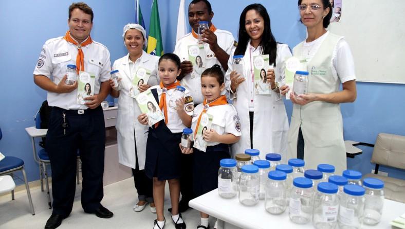 Maternidade N. Sra. de Lourdes celebra o Dia Nacional de Doação de Leite