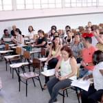 Diretores de escolas participam de reunião sobre o Programa Mais Educação - Fotos: Juarez Silveira/Seed